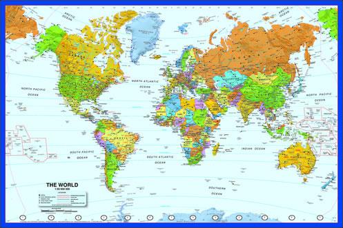 World and USA Maps